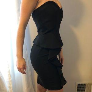 Classic Black Bebe dress